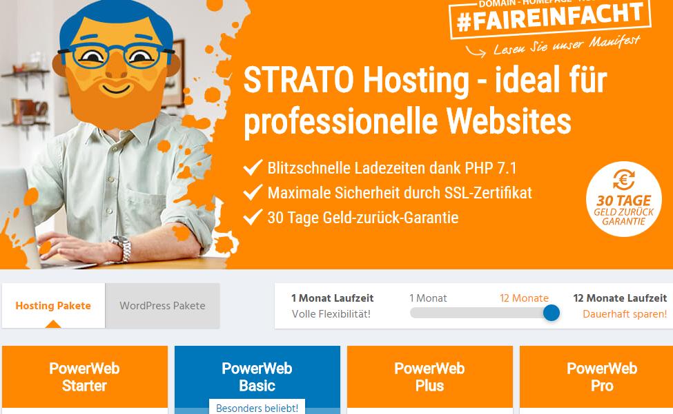 Strato Webhosting Bewertung Und Tarife Angebote
